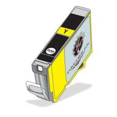 InkEdibles Brand Edible ink cartridge for Canon CLI-251Y XL - yellow