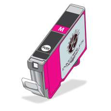 InkEdibles Brand Edible Ink cartridge for Canon CLI-271M XL - deep magenta