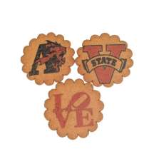 Custom Printed Ginger Thin Cookies - 2.5 inch